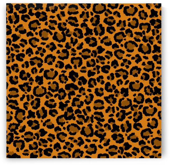 Leopard Spot Pattern Natural Colors by Photography and Digital Art By Colleen