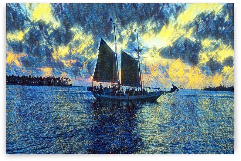Sailboat by Annamadeitt