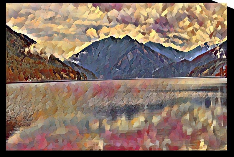 Lake Crescent by Annamadeitt