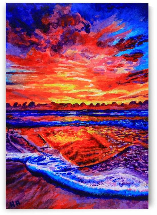 Sea Sunset by Holly Heath