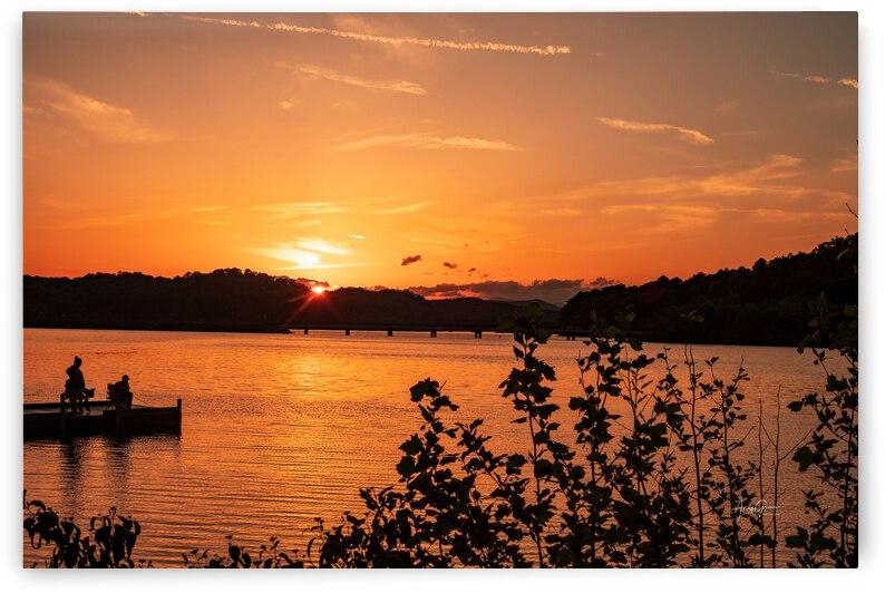 DSC02415 Sunset 123 Bridge by Andy Griner