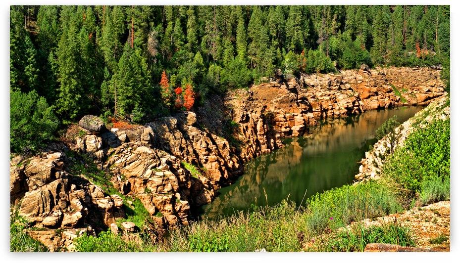 Blue Ridge Reservoir 3 by Steven Scott Hutter