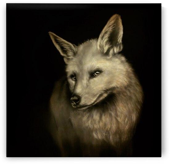 Beckoning Fox by Katharine Asals