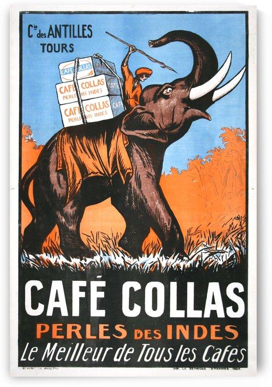 Cafe Collas Perles des Indes vintage poster by VINTAGE POSTER