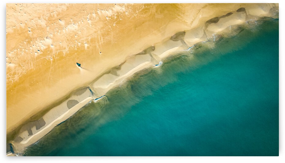dronebeach1 by Chris Cook
