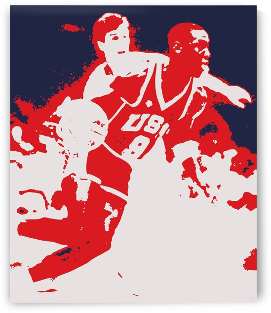 1984 Michael Jordan Pop Art | Row 1 by Row One Brand