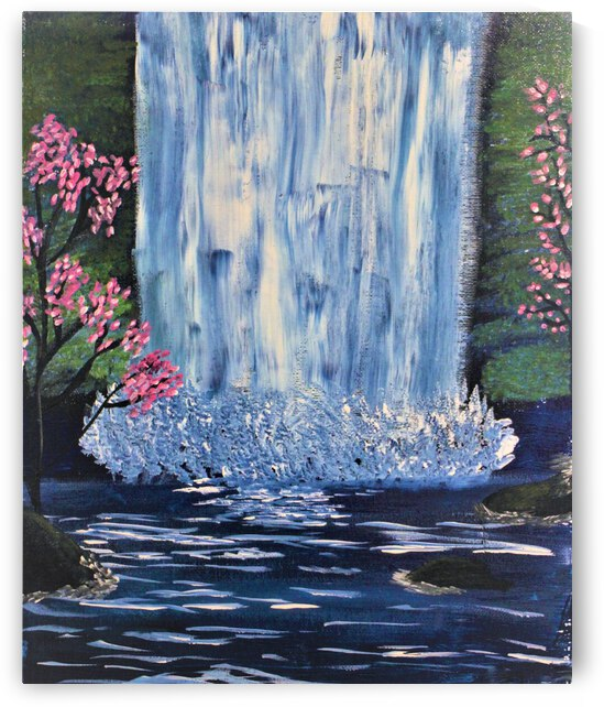 Water Fall Wishes by Derica Geter