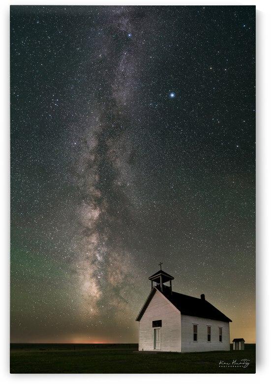 Abbott Church under Milky Way by Kai Huang