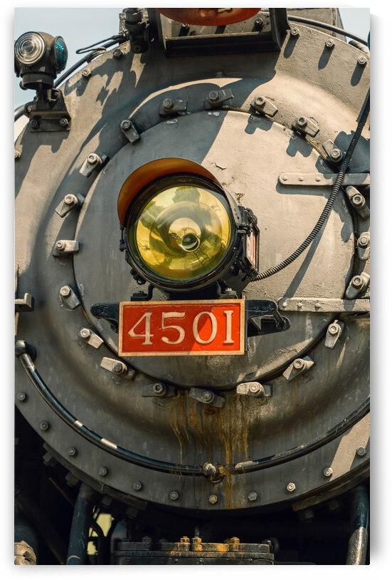 Chattanooga Steam Engine Locomotive 4501 by Liberto Photo