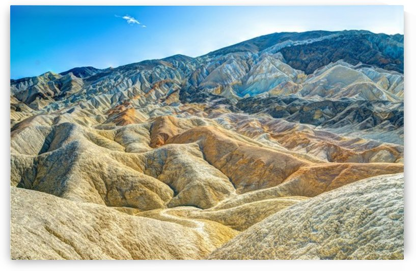 Death Valley Waves by Fabien Dormoy
