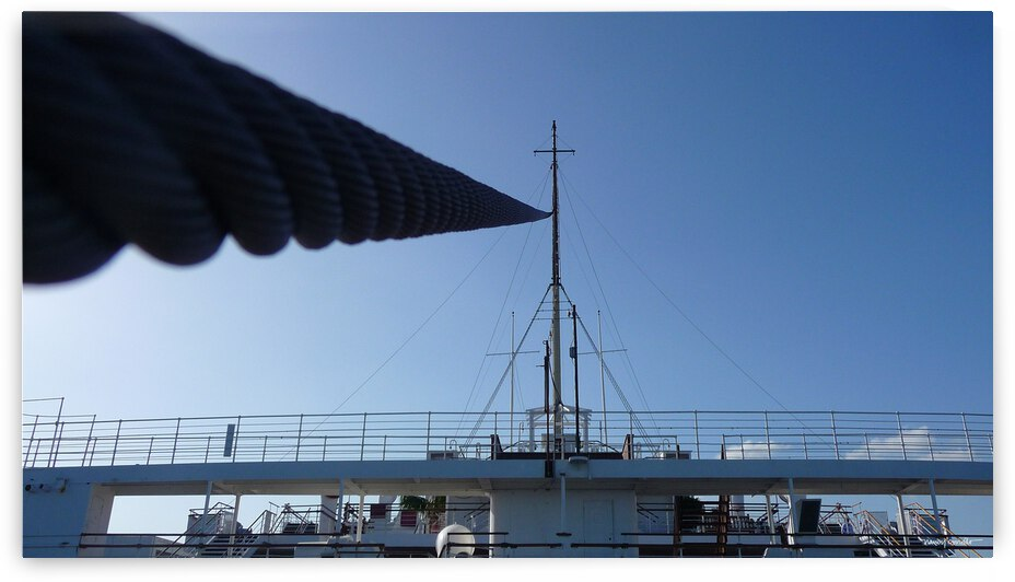 Ship line by Nancy Coviello
