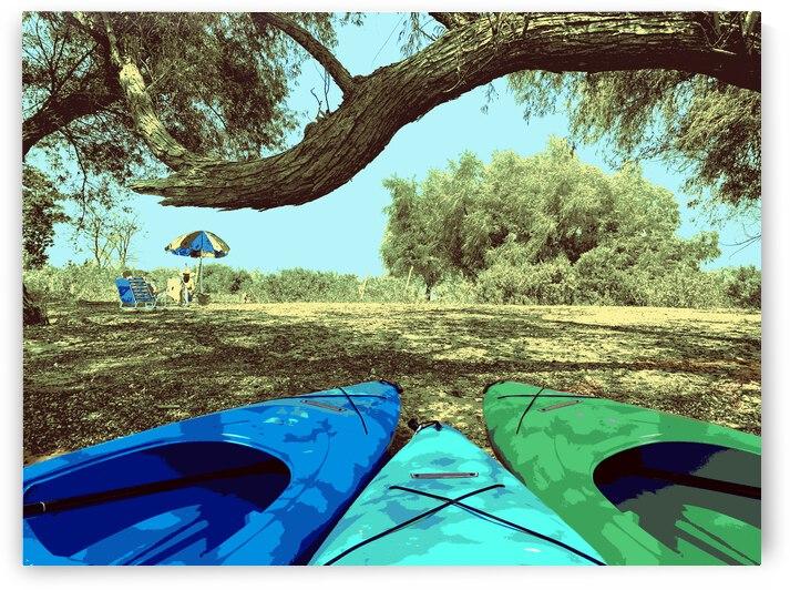 Kayak Fun by Rachael Beauchamp