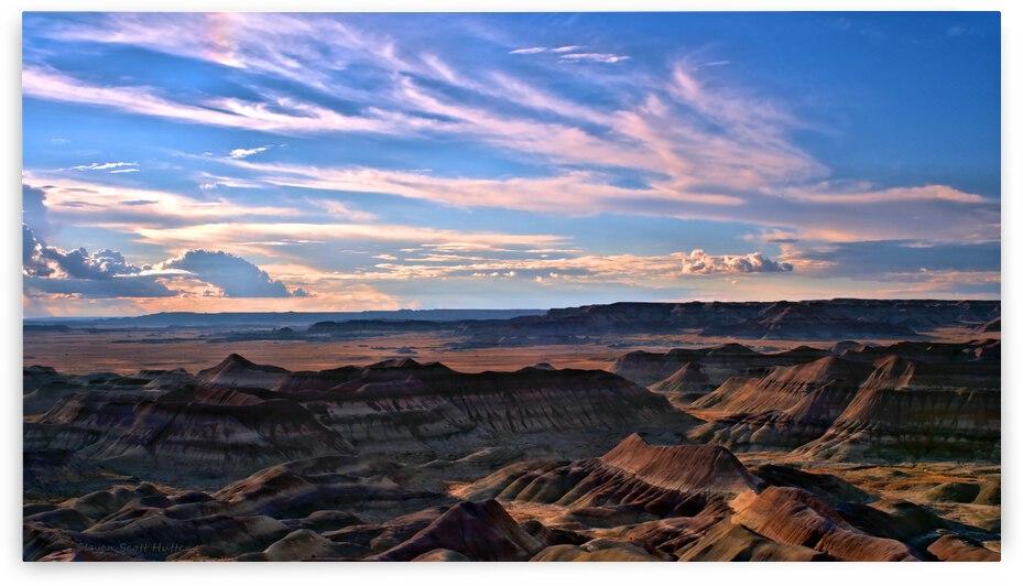 Little Painted Desert Vista 9 by Steven Scott Hutter