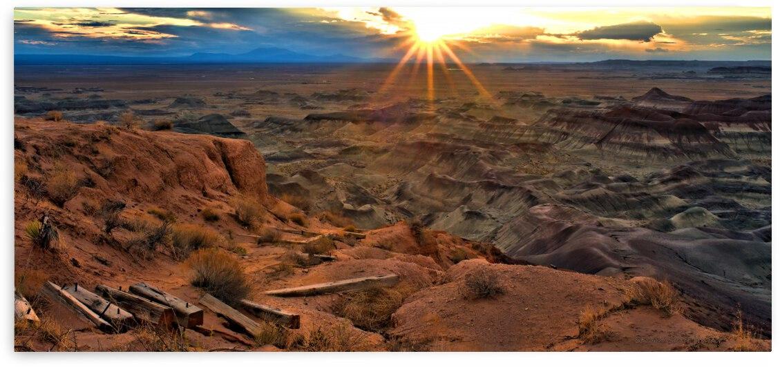Little Painted Desert Sunset 5 by Steven Scott Hutter