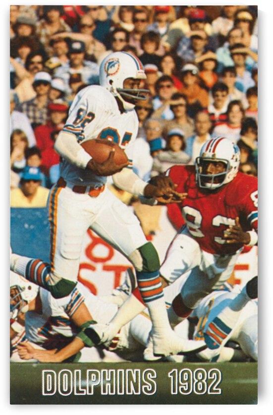 1982 Miami Dolphins | Duriel Harris | Row 1 by Row One Brand