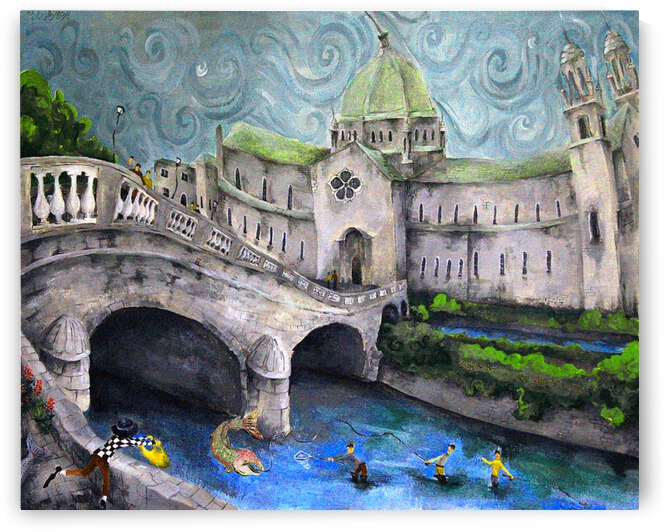 Galway Cathedral by Druid Gallery