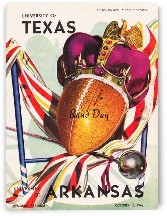 1948 Texas Longhorns vs. Arkansas Razorbacks | Row 1 by Row One Brand