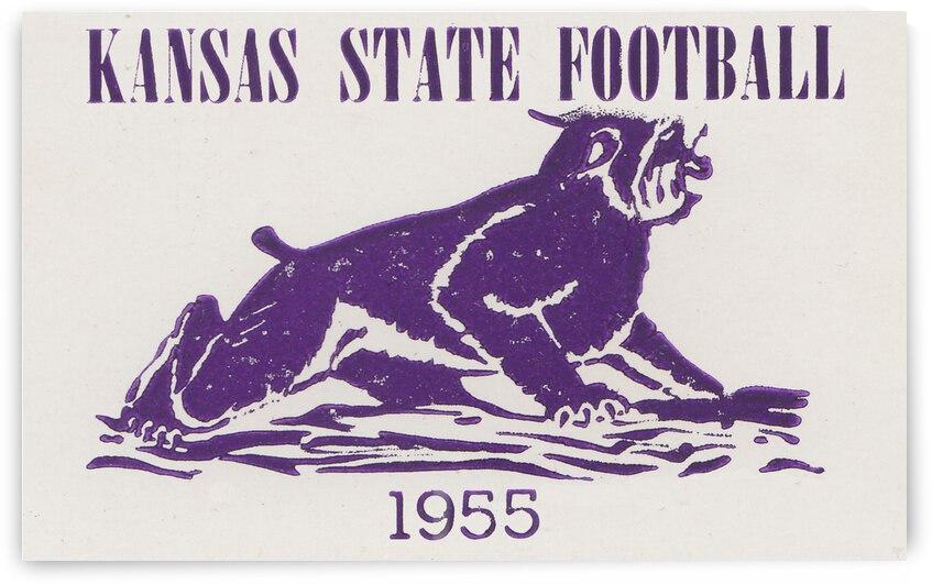 1955 Kansas State Football | Row 1 by Row One Brand