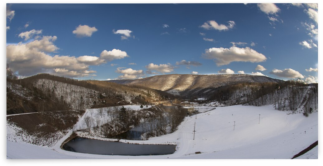 Winter At Raystown Dam by Touch Of Frank Photography