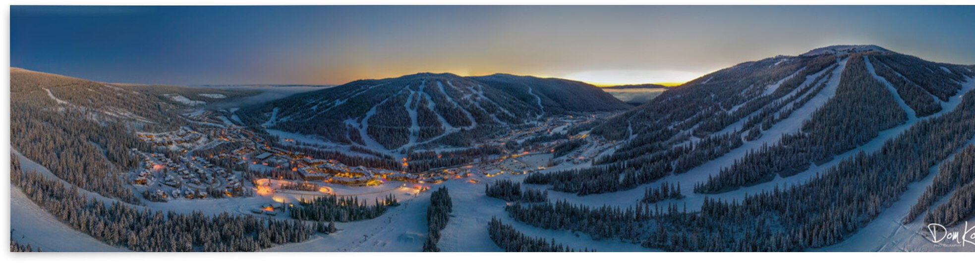 Valley Twilight  by KoricPhoto