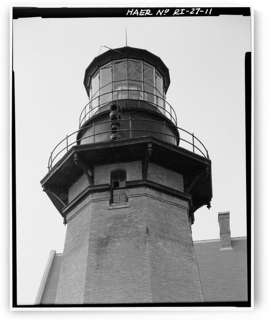 Block Island Southeast Light (Detail) by Stock Photography