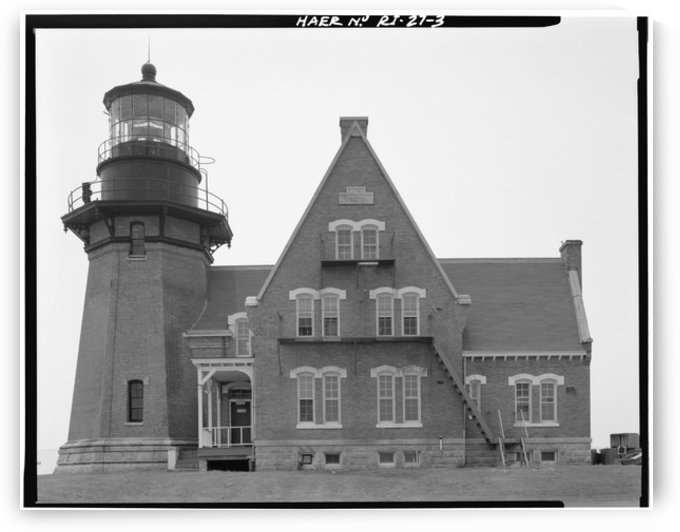 Block Island Southeast Light, Rhode Island by Stock Photography