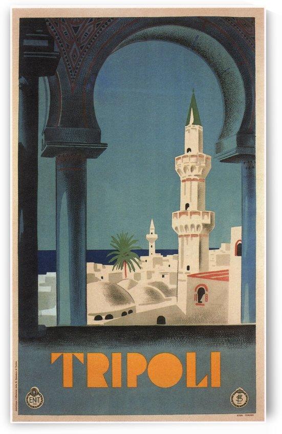 Tripoli Vintage Travel Poster by VINTAGE POSTER