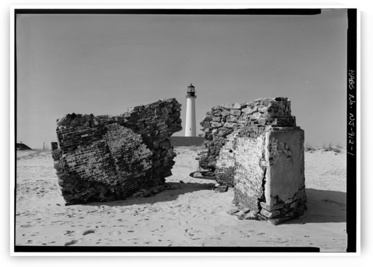 Cape May Point Lighthouses, NJ by Stock Photography
