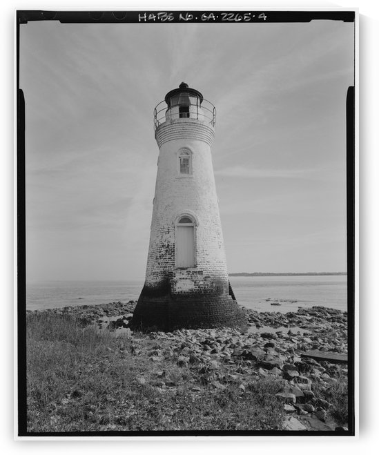 Cockspur Lighthouse, Georgia by Stock Photography
