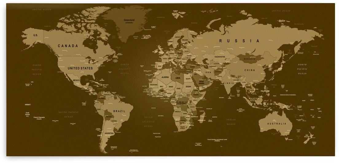 World Map  3  by SamKal