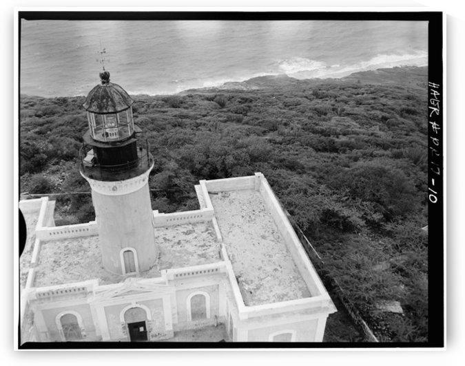 Faro de La Isla Caja de Muertos, Puerto Rico by Stock Photography