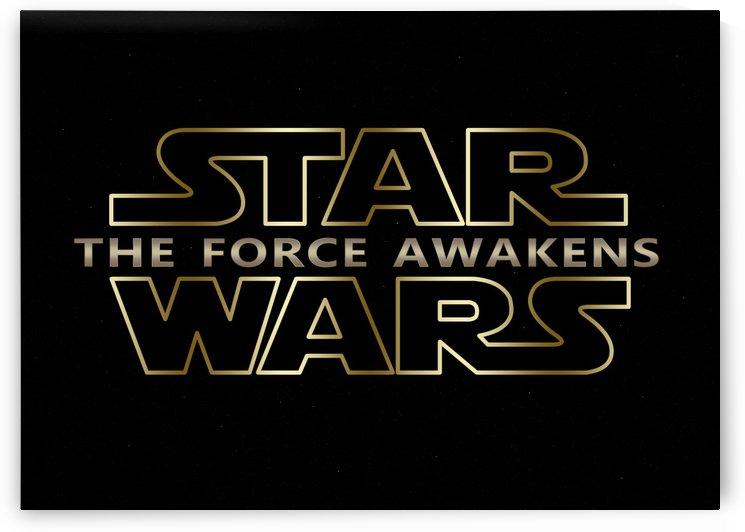The Force Awakens New Star Wars Series Typography by Georgeta Blanaru