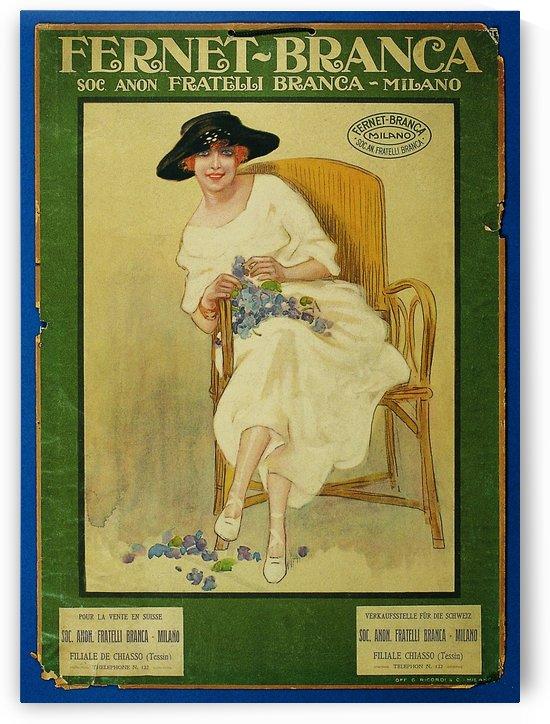 Fernet-Branca vintage poster by VINTAGE POSTER