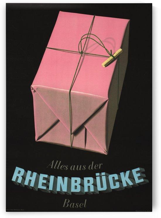 Everything from Rheinbrucke Original Poster by VINTAGE POSTER