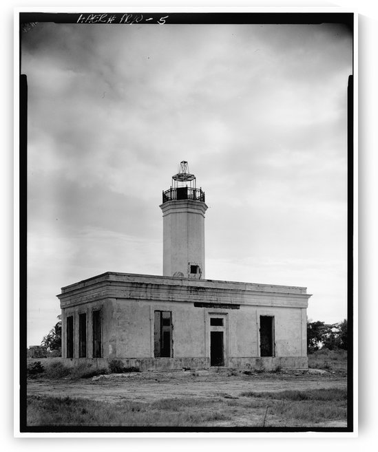 Faro de Punta de Las Figuras 2 Puerto Rico by Stock Photography