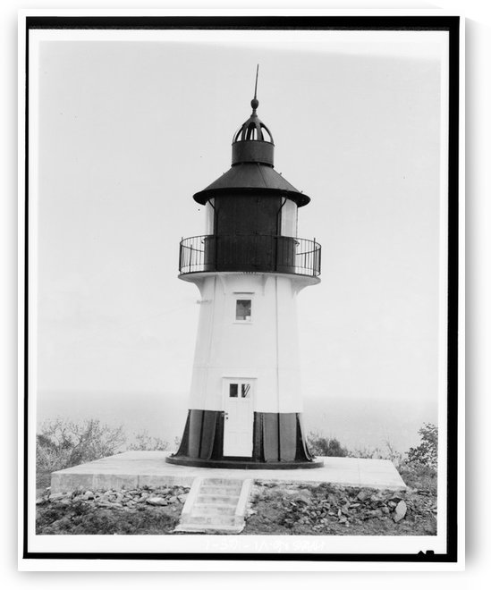 Hams-Bluff-Lighthouse-US-Virgin-Islands by Stock Photography