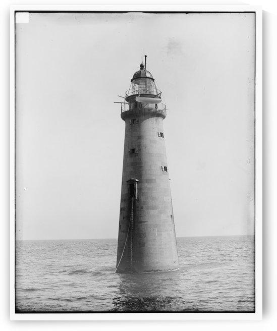 Minots-Ledge-Lighthouse-Boston-MA by Stock Photography
