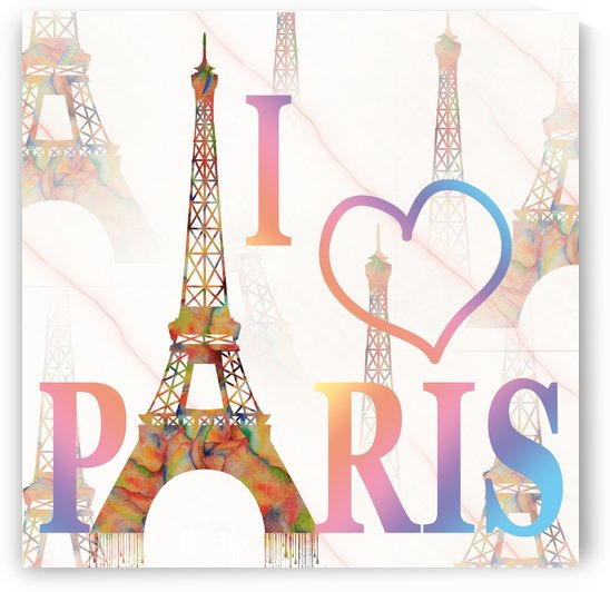 I LOVE PARIS by Georgeta Blanaru