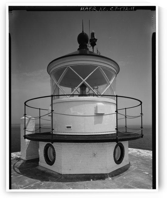 New-London-Ledge-Lighthouse-(Lantern) by Stock Photography