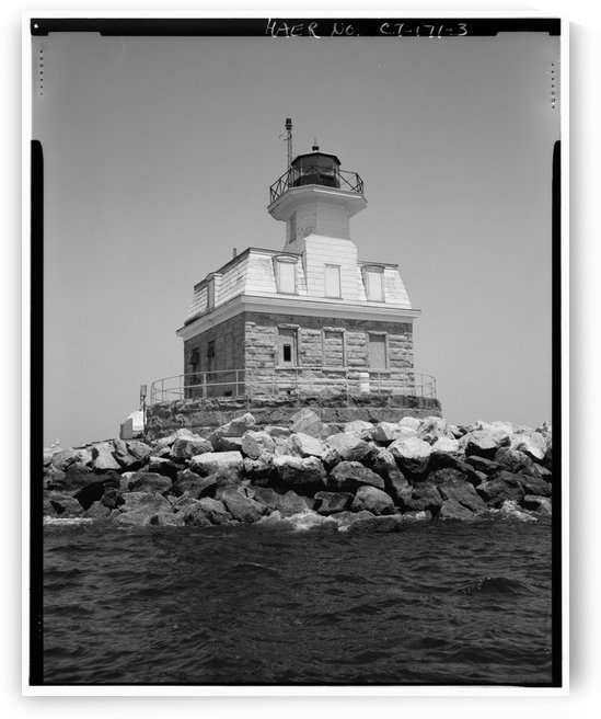 Penfield-Reef-Lighthouse-Long-Island-Sound-Bridgeport-Fairfield-County-CT by Stock Photography
