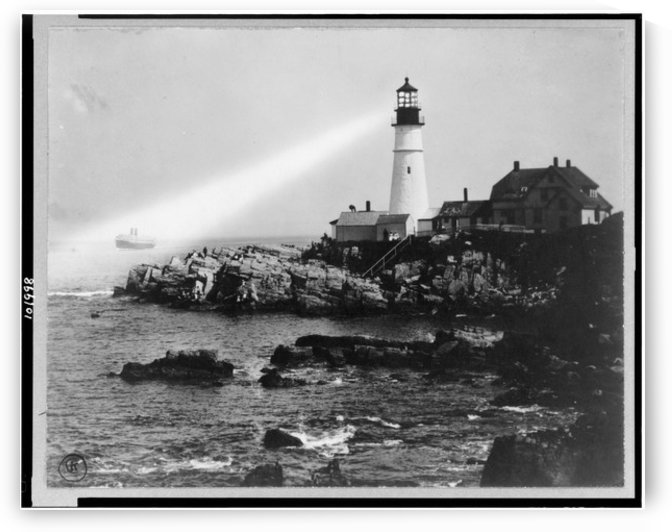 Portland-Head-Light-Portland-Maine by Stock Photography