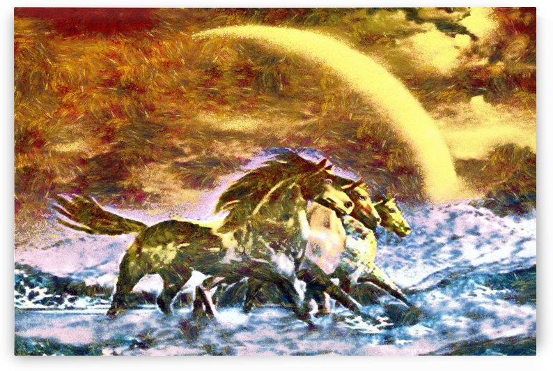 3 Horses  by Sam Rad