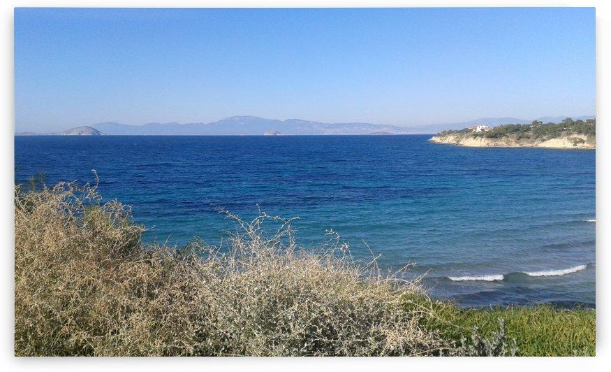 Along the coast in Greece, Aegina Island by Vlad Radulian