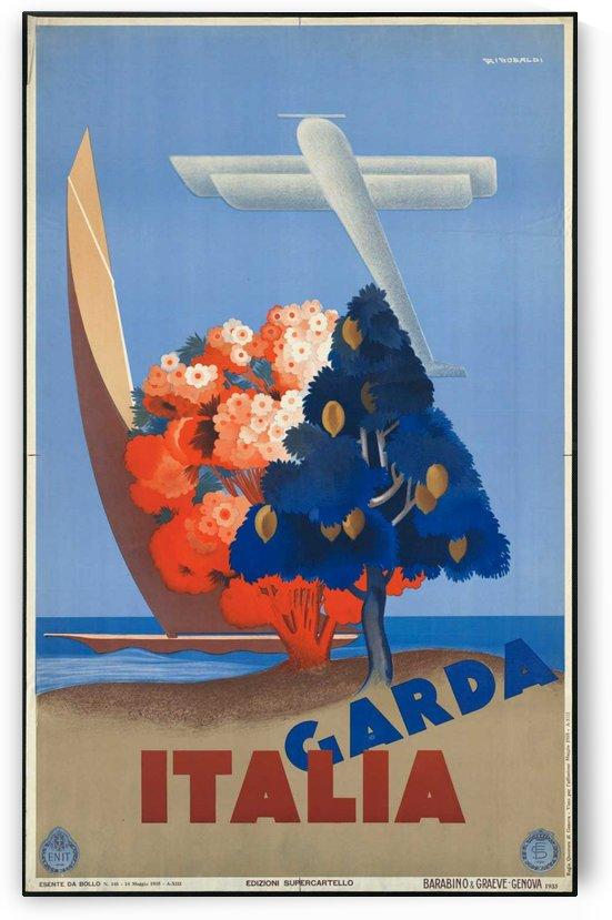 Garda Italia Vintage Poster by VINTAGE POSTER