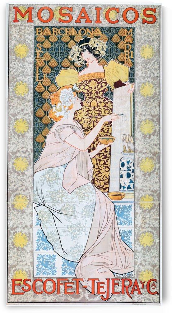Alexandre-de-Riquer---Mosaicos by VINTAGE POSTER