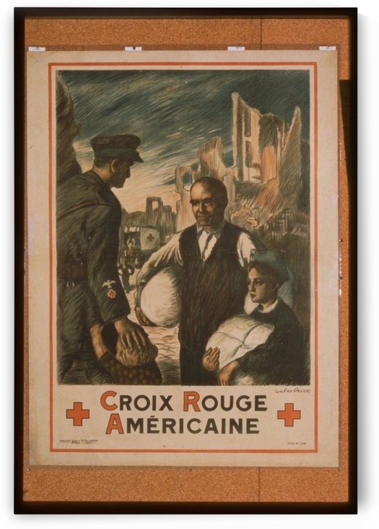 Vintage---American-Red-Cross by VINTAGE POSTER