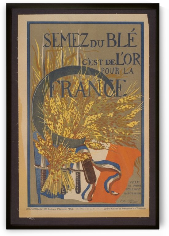 Vintage---French-Poster by VINTAGE POSTER