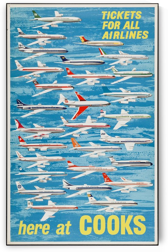 Cooks Travel Poster by VINTAGE POSTER