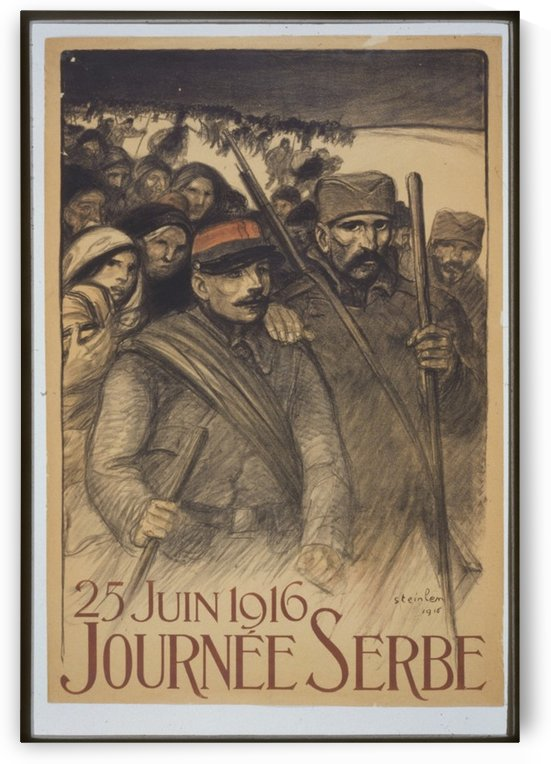 Vintage---Journey-to-Serbia by VINTAGE POSTER