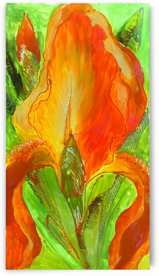 Polyptic with irises 4 by Vali Irina Ciobanu by vali irina ciobanu